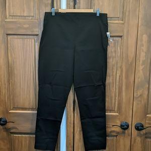 NWT black skinny dress pants